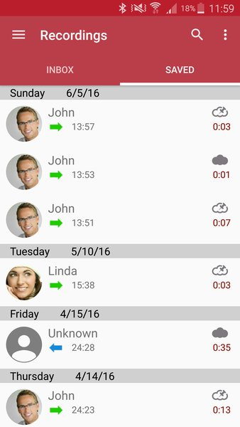 Automatic Call Recorder screenshot 1