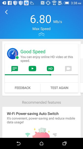 Speed Test - WiFi / Cellular speed test app Latest Version
