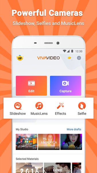VivaVideo - Video Editor & Photo Movie screenshot 2