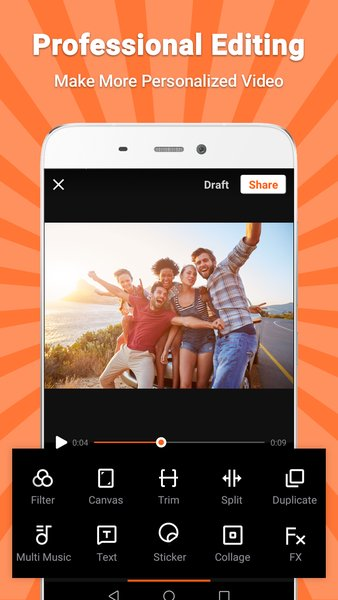 VivaVideo - Video Editor & Photo Movie screenshot 5